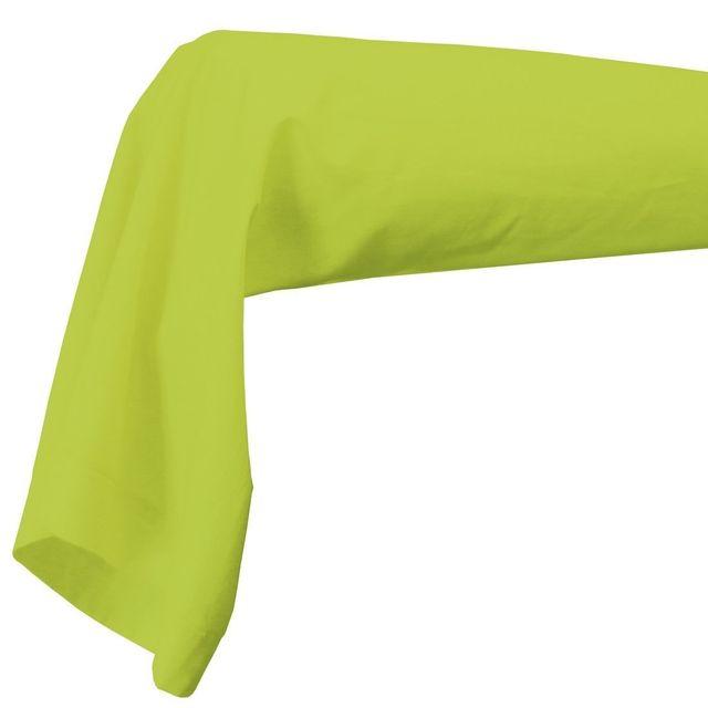 Decoline Taie de traversin 85 x 185 cm vert pistache
