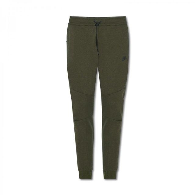 Nike - Pantalon de jogging Tech Fleece - 805162-330 Vert - XL - pas cher  Achat   Vente Survêtement homme - RueDuCommerce f7229091b095