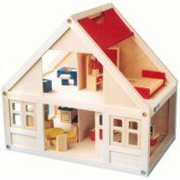Sapin Malin - maison de poupee bois + accessoire