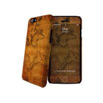 I-PAINT - Coque ''Hard Case'' pour Iphone 6 + Film de protection - Map