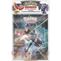 "ASMODEE - POKEMON - Pack cahier range-cartes + booster ""Pokémon SL04 - POB09SL03"