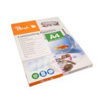 Peach - 100er-Pack - glänzend - A4 210 x 297 mm, Taschen für Laminierung