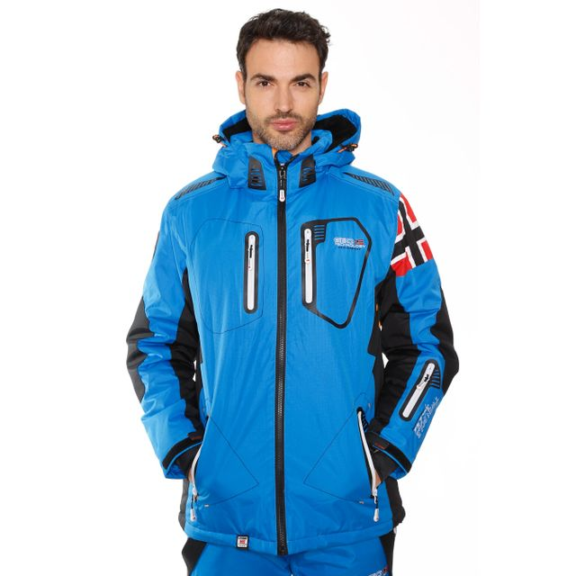 892736d75d428 Geographical Norway - Blouson de Ski Winner Bleu - pas cher Achat ...