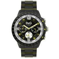 Dolce&Gabanna - Dw0193 Montre homme Dolce and Gabanna prestige bracelet en acier étanche chronograph 3 compteurs Garantie 2 ans