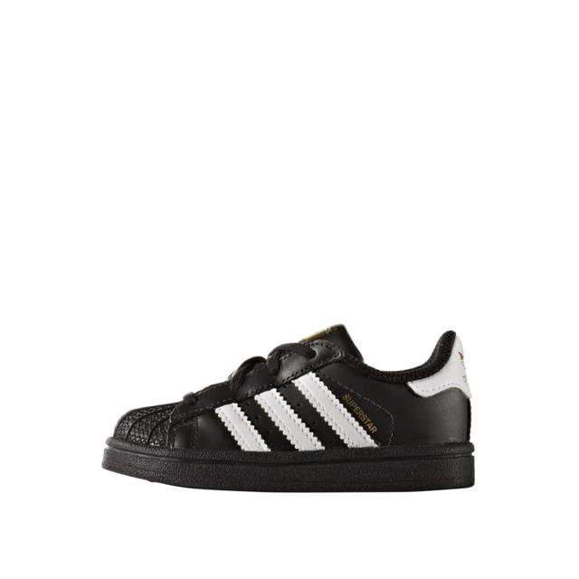 Adidas Superstar I Bb9078 Age Enfant, Couleur Noir