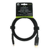 CONNECT - 2M Cordon vidéo HDMI-HDMI - Connecteurs orientables CRE 7192