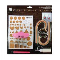Artemio - Kit complet, comprenant tout le nécessaire pour démarrer la technique du quilling et créer facilement vos bijoux, décorations