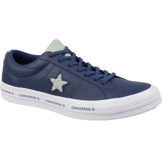 Converse One Star Ox 163378C Homme baskets Rouge