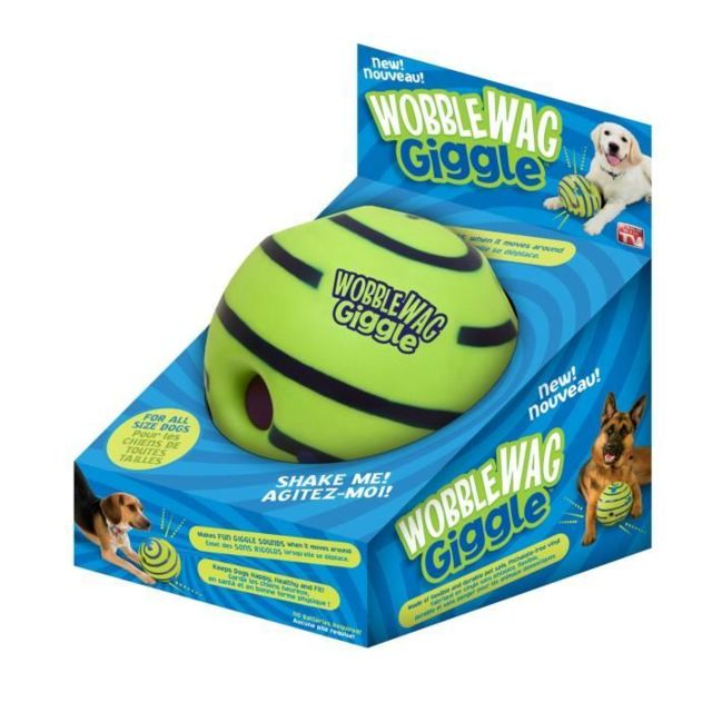 Swissant BALLE Indestructible Wobble Wag Giggle