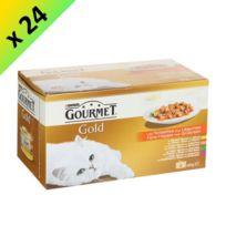 Gourmet - Gold Les Noisettes aux légumes pour chat 4 x 85g -24