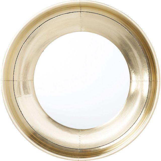 Karedesign Miroir Crudo rond 80cm Kare Design