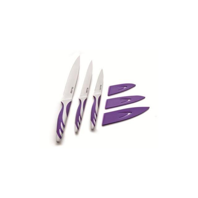 Ibili Couteau De Cuisine Violet 15 Cm