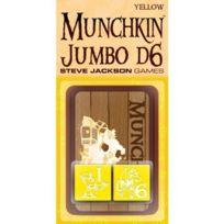 Munchkin - 332234 - Jeu De Cartes - Jumbo Dice - Jaune - D6