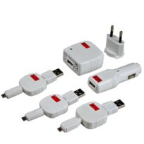 Swiss Charger - MicroPack - Chargeur universel micro Usb spécial Smartphone