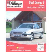 Topcar - Revue technique pour Opel Omega diesel 6 cyl