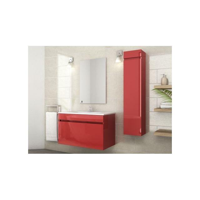 MARQUE GENERIQUE - Ensemble KAHI - meubles de salle de bain simple ...