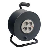 Zenitech - Enrouleur de bricolage a cabler 4 prises 16A et coupe-circuit