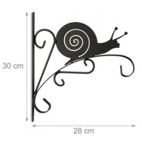 Autre - Crochet mural pour plantes jardinage pot de fleur en métal décoration de jardin 2013103