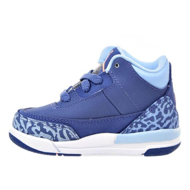 Nike Basket Air Jordan 3 Retro Td Bébé Ref. 654964 506