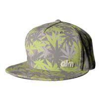 Elm - Casquette Cap Cannabis Camo green/gray