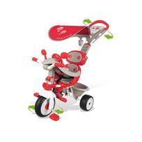 Smoby - Tricycle enfant Baby Driver Confort Rouge + Ombrelle