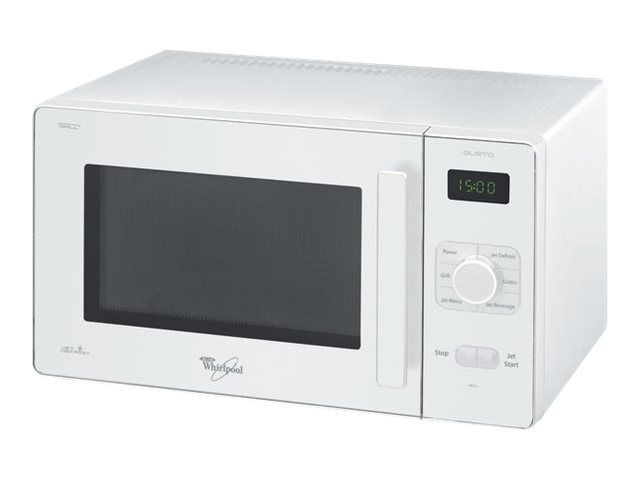 Whirlpool four micro-ondes + gril 25l 700w blanc - gt284wh