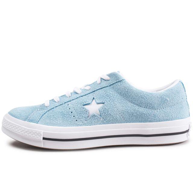 converse one star bleu marine