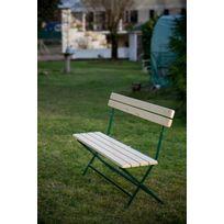 Banc jardin pliable - catalogue 2019 - [RueDuCommerce - Carrefour]