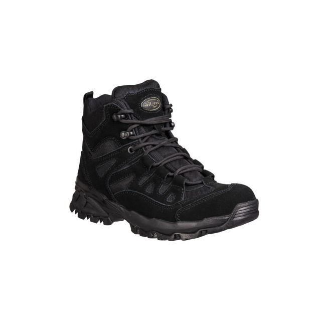 Militec Chaussures Squad mid Noires - Miltec