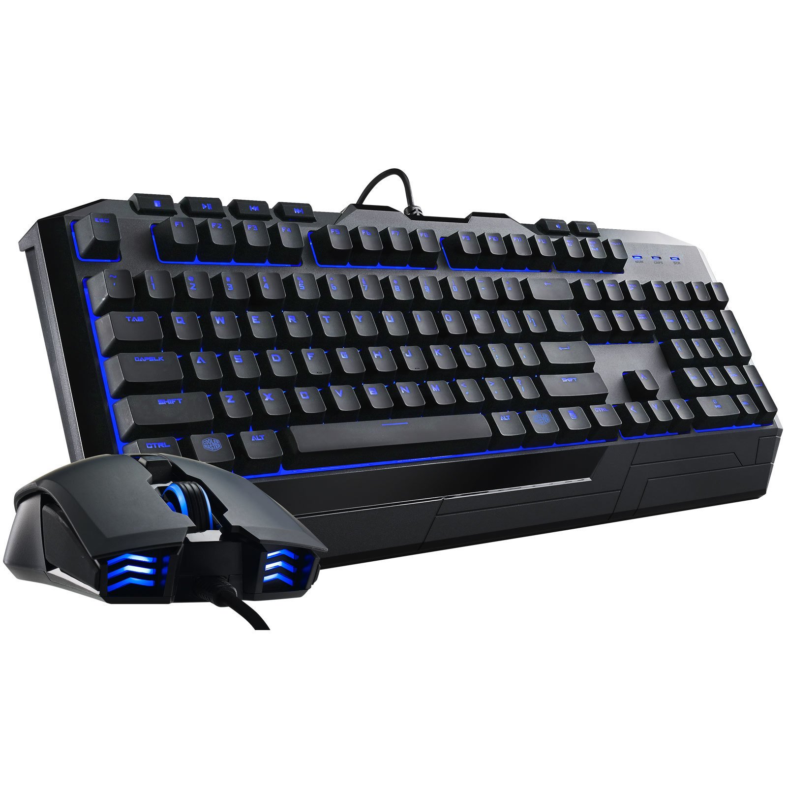 Pack Clavier/Souris gamer Devastator II Blue