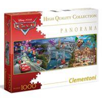 Clementoni - Puzzle 1000 pièces panoramique : Cars