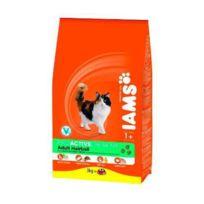 Iams - Croquettes au poulet - Boule de poils - Toutes races - 2,55kg - Pour chat adulte