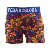 Made In Sport - Boxer Fc Barcelone All Over Bleu/rouge Junior