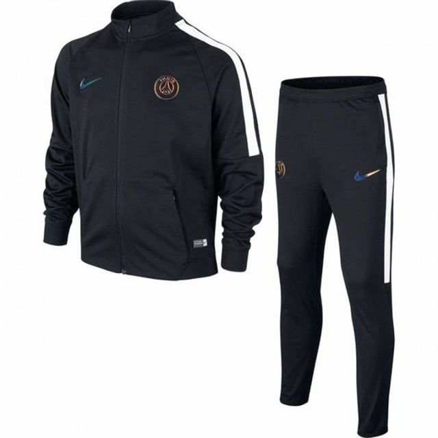 Nike - Ensemble de survêtement Junior Psg 2016/2017 - Ref. 810780-014