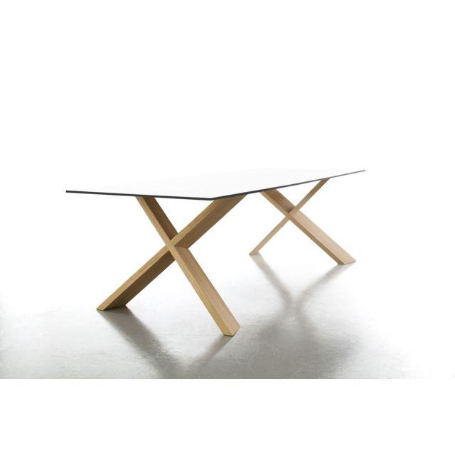 Conmoto Table X-man - blanc Hpl