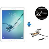 Samsung - Galaxy Tab S2 - 9,7'' - 32 Go - Blanc + Minidrone hybride Parrot