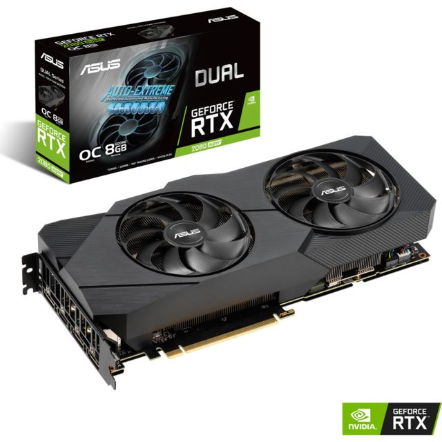 ASUS Geforce RTX 2080 Super - DUAL OC EVO - 8 Go