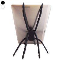 Totalcadeau - Support tablette et ipad en forme d'araignée à 8 pattes accroche iPa blanc