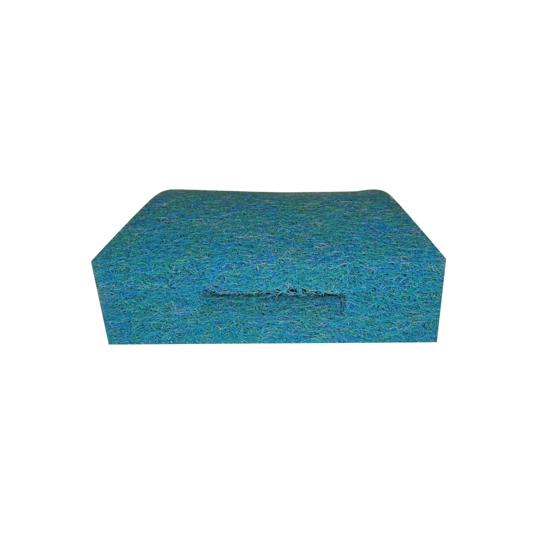 Velda - Tapis japonais fin bleu