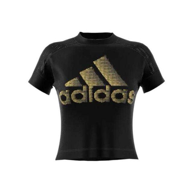 t shirt adidas noir femme