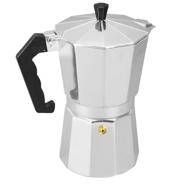 Café en aluminium moka maker pot haut expresso latte poêle percolateur 12 tasses