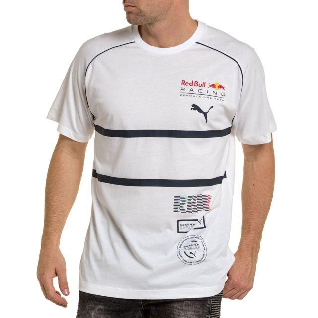 6be634a397b67 Puma - Tee shirt blanc RedBull - pas cher Achat   Vente Tee shirt ...