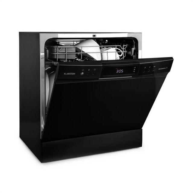 KLARSTEIN Amazonia 8 Neo Lave-vaisselle de table 8 programmes classe A+ - noir