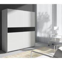 armoire 170 cm achat armoire 170 cm pas cher rue du. Black Bedroom Furniture Sets. Home Design Ideas