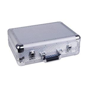 Zomo - Flight Case Cd et Vinyles Cdj 2 Pearl Silver/Aluminium