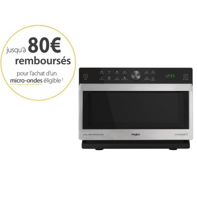 Whirlpool Four micro-ondes combiné MWP 338 SX