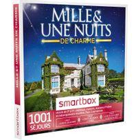 Smartbox - Mille & une nuits de charme - 1001 séjours partout en France ou en Europe : hôtels de 3 à 5 , maisons dhôtes, hébergements insolites, châteaux - Coffret Cadeau