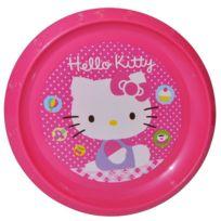 Marque Generique - Assiette plate Disney Hello kitty enfant repas