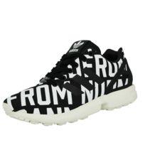 sports shoes dbfd6 04684 Adidas - Originals Zx Flux Ro W Chaussures Mode Sneakers Femme Noir Blanc