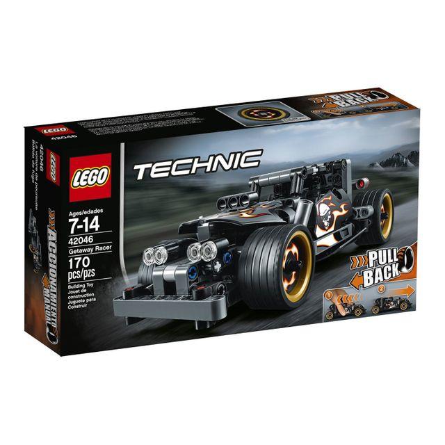 lego technic la voiture du fuyard 42046 pas cher achat vente lego rueducommerce. Black Bedroom Furniture Sets. Home Design Ideas